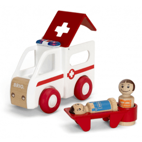 BRIO - Ambulance m/lyd og lys