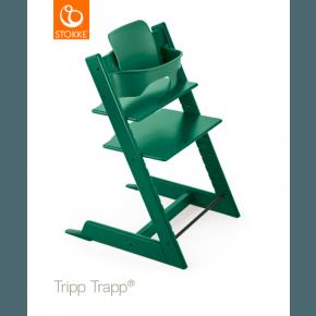 Tripp Trapp Højstol + Babysæt - Forest green