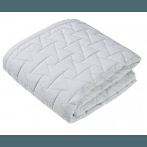 GUBINI Baby bed cover 120x120 cm - Quilt Star Mint Sengetæppe