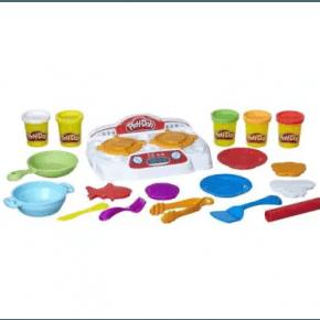 Play-Doh Kogeplader, køkkentilbehør og modellervoks