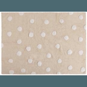 Lorena Canals gulvtæppe - Polka Dots Beige