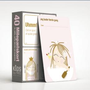 KIDS BY FRIIS - Milepælskort, prinsesse