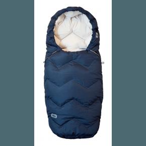 Design by Voksi - Northern Lights Blue Sove- og kørepose