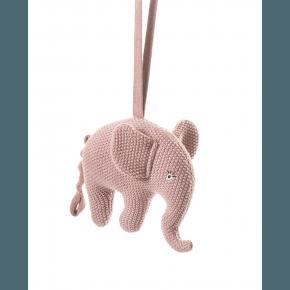 Smallstuff musik uro, strikket elefant, pudder