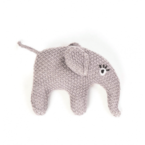 Smallstuff rangle, strikket elefant, lilla