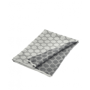 Smallstuff strikket babytæppe, grå