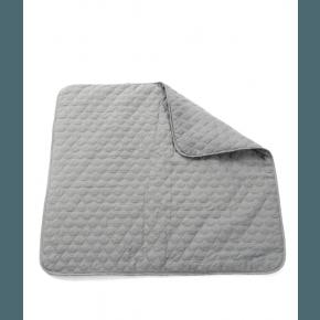 Smallstuff Quiltet legetæppe, grå