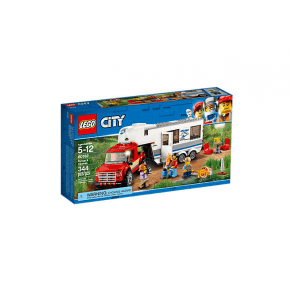 LEGO CITY - Pickup og Campingvogn - 60182