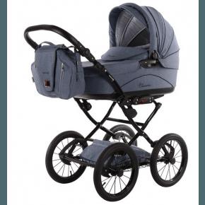 Knorr-Baby Classico Emotion - Lyseblå Kombivogn