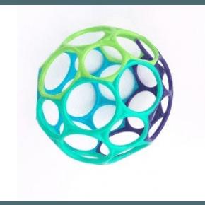 Oball Classic - Blå, grøn & lilla (dreng) Babylegetøj