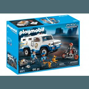 Playmobil Police Money Transporter