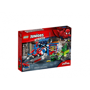 LEGO JUNIORS - Spidermans Gadekamp mod Scorpion - 10754