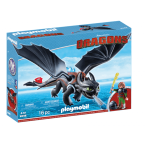 Playmobil Hiccup & Toothless