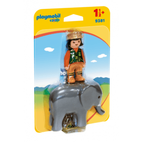 Playmobil Dyrepasser med elefant
