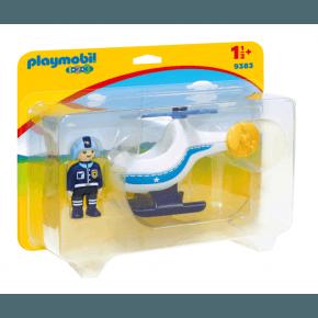 Playmobil Politi helikopter