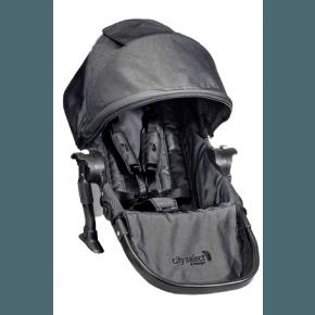 Baby Jogger City Select ekstra sæde kit - Grafit Denim