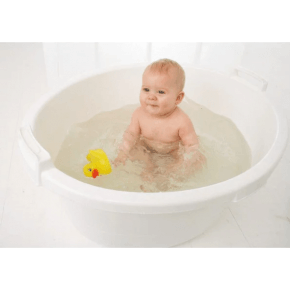 Baby Dan balje m. prop (90L) - hvid