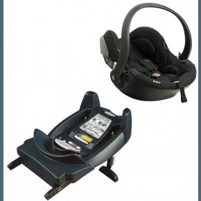 BE SAFE iZi Go X1 0-13 kg. Autostol Black Cab og BE SAFE iZi Go ISO base