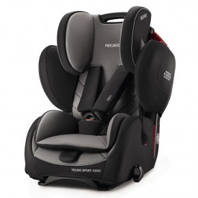 Recaro Young Sport Hero Autostol - Carbon Black