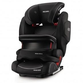 Recaro Monza Nova IS Seatfix Autostol - Performance Black (Til isofix og/eller sele montering)