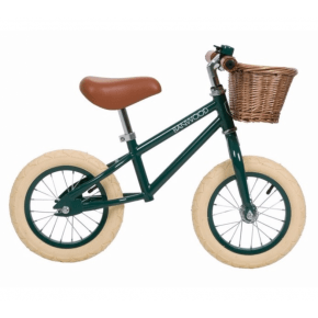 Banwood Løbecykel, First go - Dark green