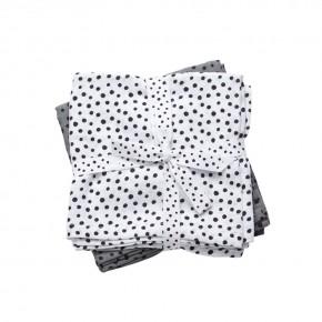 Done By Deer - Happy dots svøb 2-pack - Grey