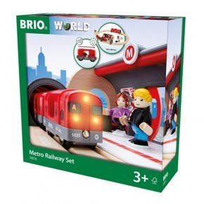 BRIO World - Togbane - Metro - 33513