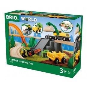 BRIO World - Togbane - Skovarbejde Sæt - 33789