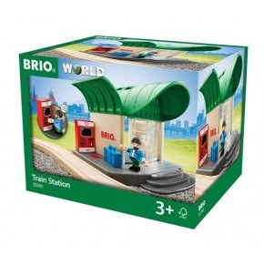 BRIO World - Togstation - 33745