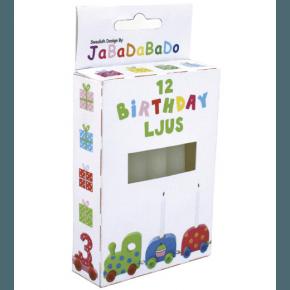 JaBaDaBaDo Fødselsdagslys til fødselsdagstog