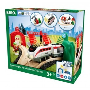 BRIO Smart Tech Togbane m. Action-Tunneller - 33873