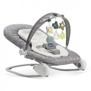 Chicco Hoopla Bouncer skråstol - Stone