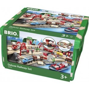 BRIO De Luxe Railway sæt - 33052