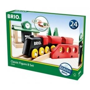 BRIO Togbane - Klassisk 8-tal - 33028
