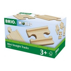 BRIO World - Lige skinner - Mini - 33333