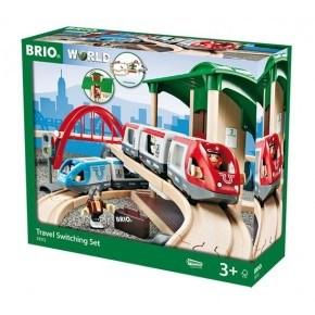 BRIO Togbane (stor) på rejse - 33510