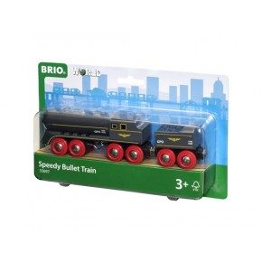 BRIO World - Højhastighedstog Bullet Train - 33697