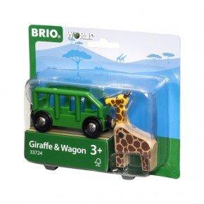 BRIO World - Giraf og Vogn - 33724