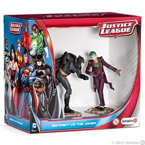 Schleich - Figursæt m. Batman & Jokeren