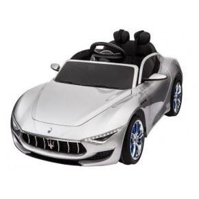 Ride Ons Maserati Alfieri - Sølv - Med fjernbetjening