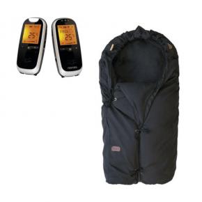 Neonate BC6500D Babyalarm + Voksi Classic+ Mini - Black