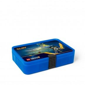 LEGO Nexo Knights Sorting box - Transparent Blå