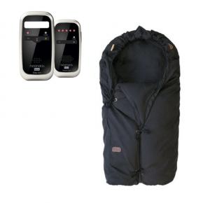 Neonate BC4600D Babyalarm + Voksi Classic+ Mini - Black