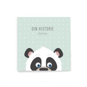 Alfabetdyr Din historie - Mint panda - Udgået model
