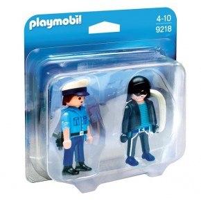 Playmobil - Politimand og indbrudstyv