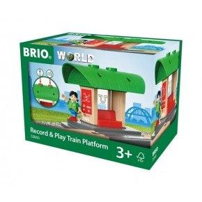BRIO Togstation m lydoptager - 33840