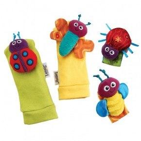 Gardenbug fod- og hånd ranglesæt - Lamaze