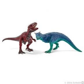 Schleich - Garnotaurus og Giganotosaurus (lille)