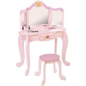 Kidkraft Prinsesse sminkebord og stol