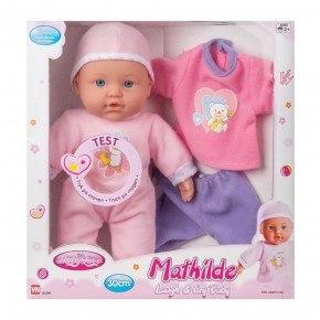 My Baby Love Mathilde dukke, 30 cm. m lyd og tøj